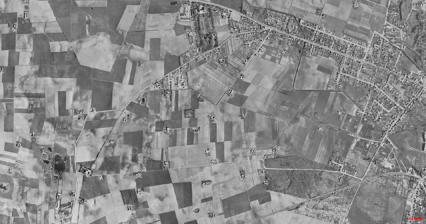 Luftfoto fra 1954