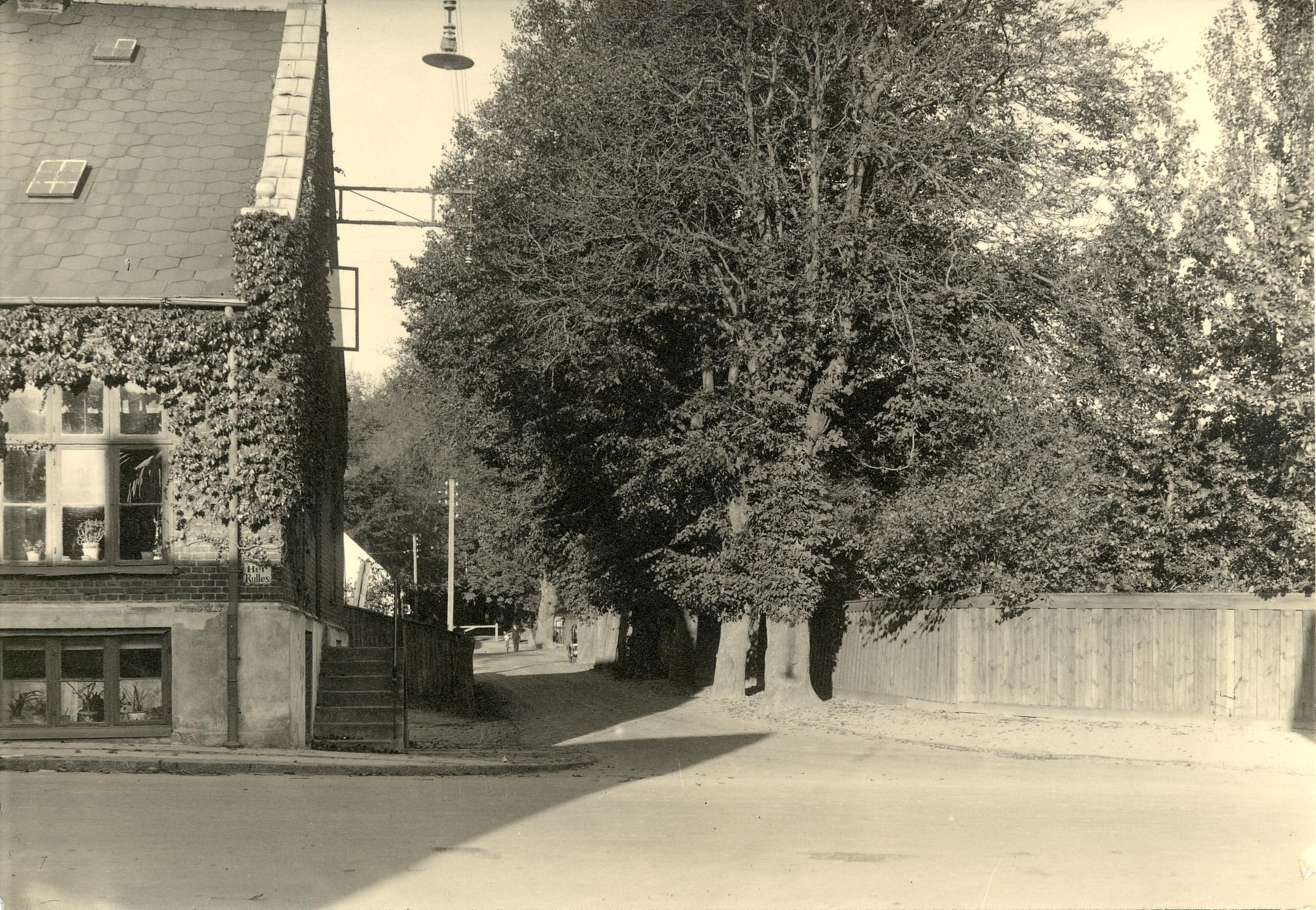 Kalvehalvevejs setfra Frederiksværksgade, ca. 1920