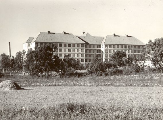 Frederiksborg Amts Sygehus. Sengestuerne. Ca. 1943