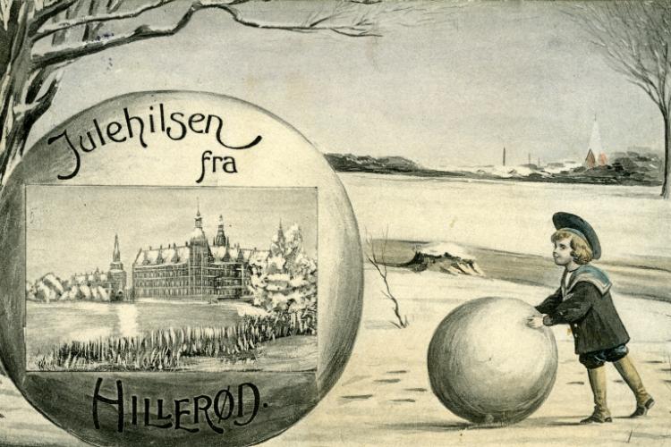 Julehilsen fra Hillerød, 1910