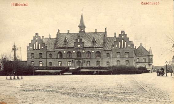 Rådhuset cirka 1900