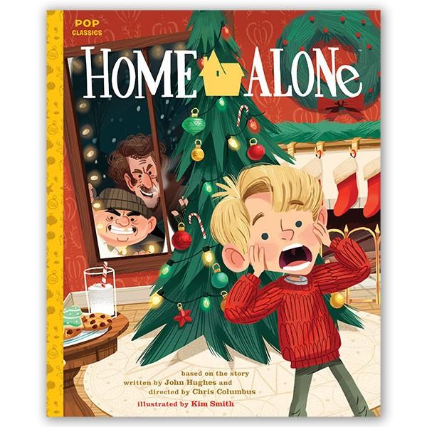 Home Alone, baseret på filmen af John Hughes og Chris Colombus, ill. af Kim Smith. Forlaget Carlsen