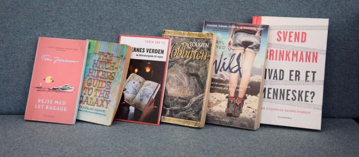 Bøger på række
