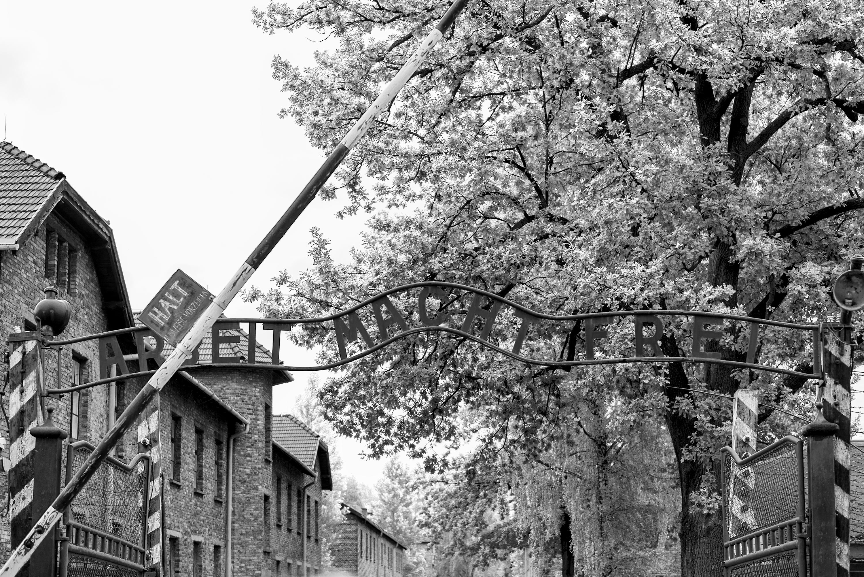 Ældre billede af Auschwitz