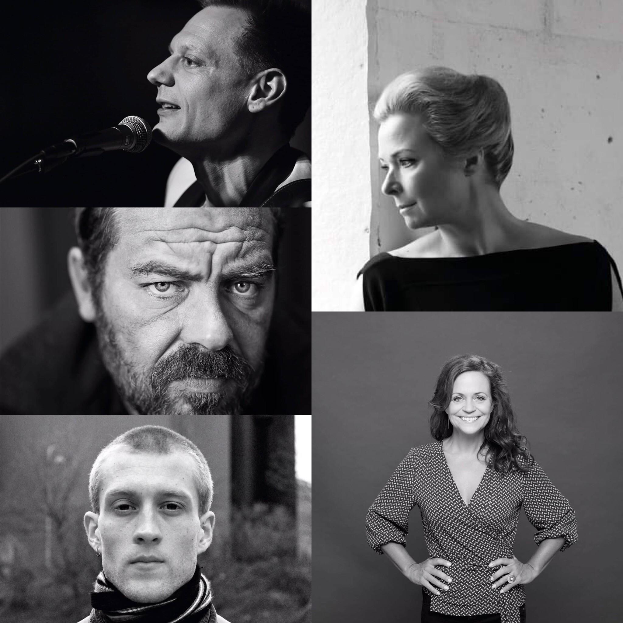 Helle Helle, Kaspar Colling Nielsen, Karen Fastrup, Jonas Eika, Tobias Trier_Ordet er Løs 2019.jpg