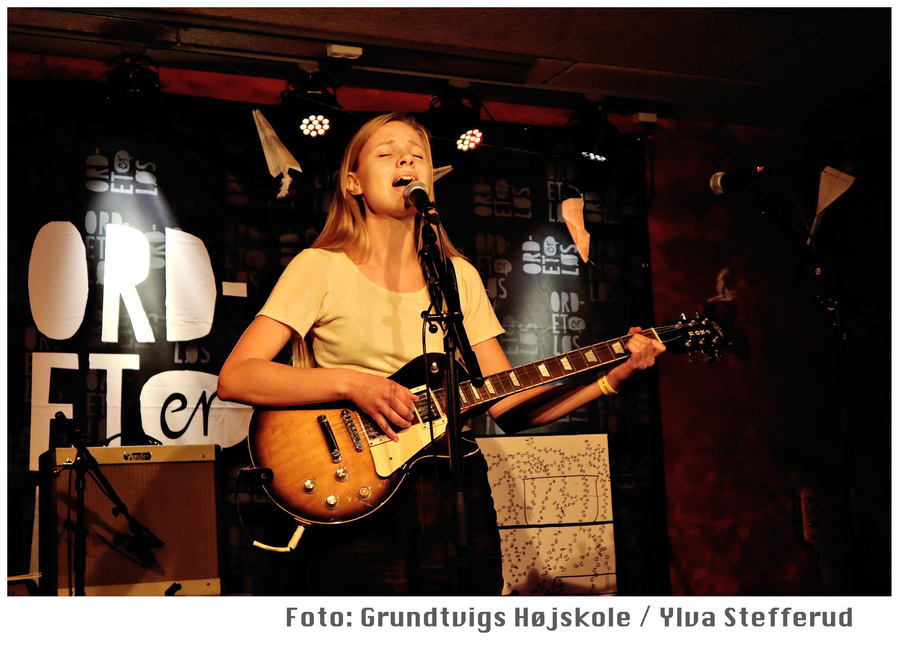 Sangskriver_Ordet er Løs 2019_foto, Ylva Stefferud