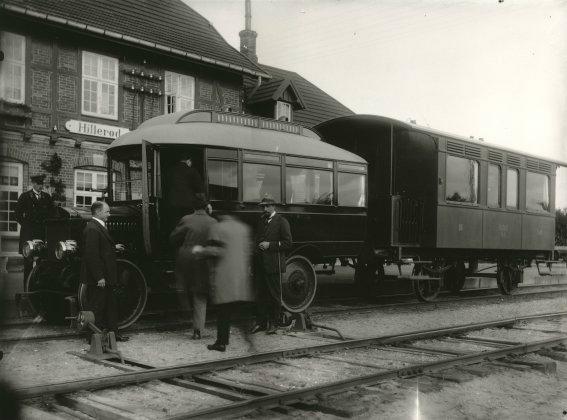 Frederiksværkbanen, lokalstationen på Trollesvej, 1923
