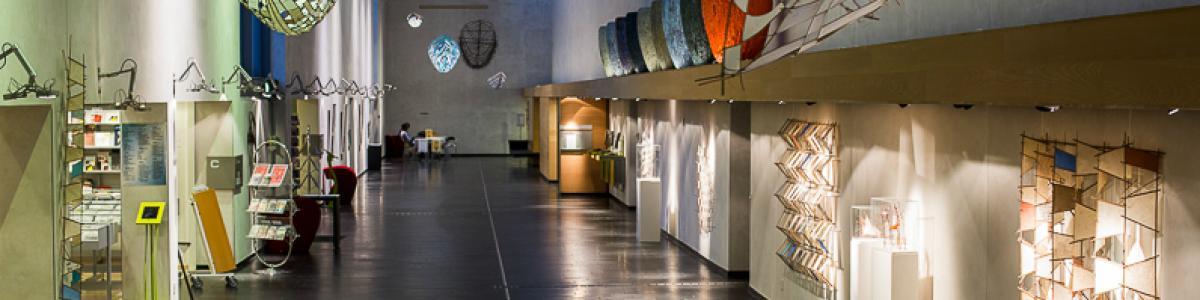 Vandrehallen på Hillerød Bibliotek. Fotograf: Thomas Elvius Nørregaard