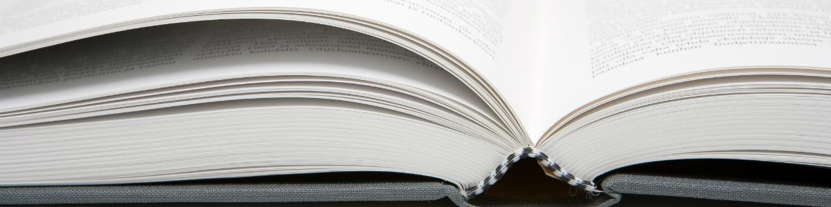 Opslået bog
