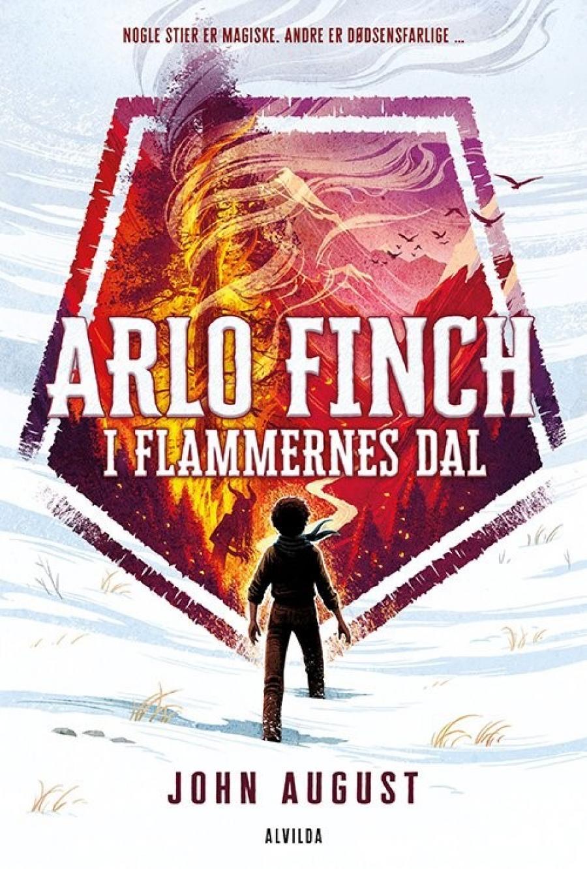 Bogforsiden Arlo Finch i flamernes dal