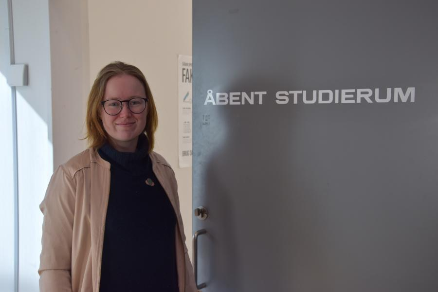 Bibliotekar Julie Feldskov Henriksen