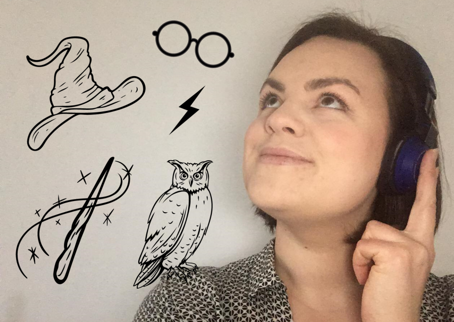 Børnebibliotekar Sofie Funder Allermann drømmer sig væk i magi