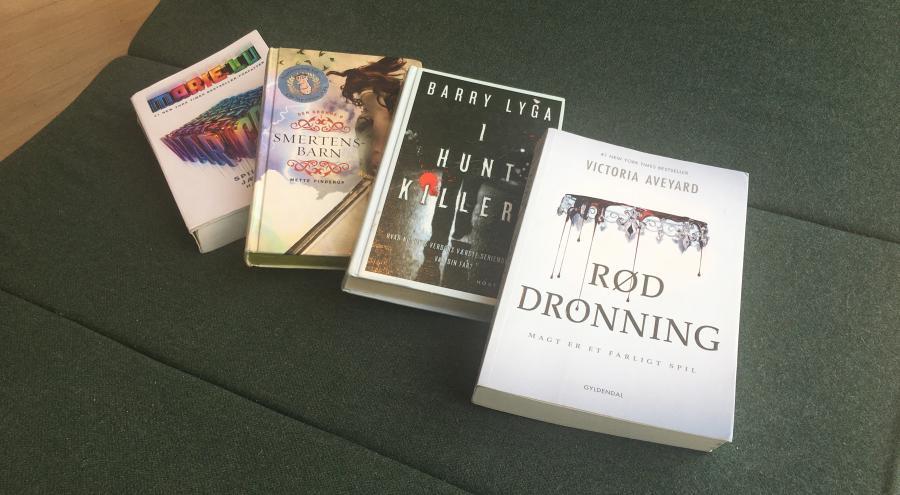 Bogforsider på YA-bøger