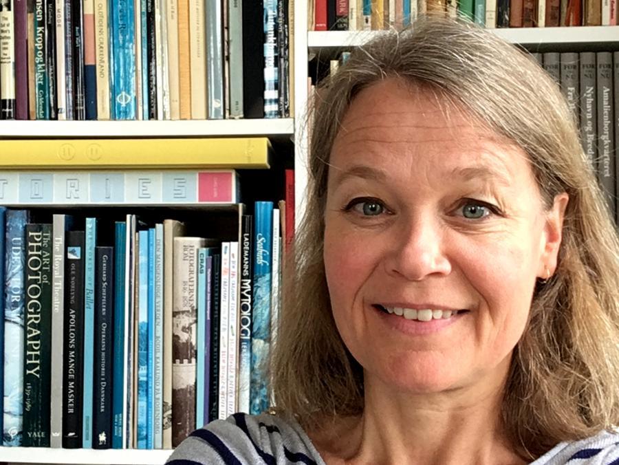 Bibliotekar Ingeborg Nilsen