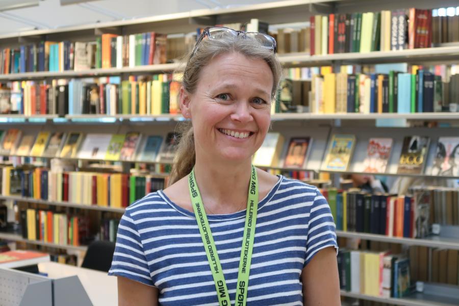 Bibliotekar Ingeborg Nielsen