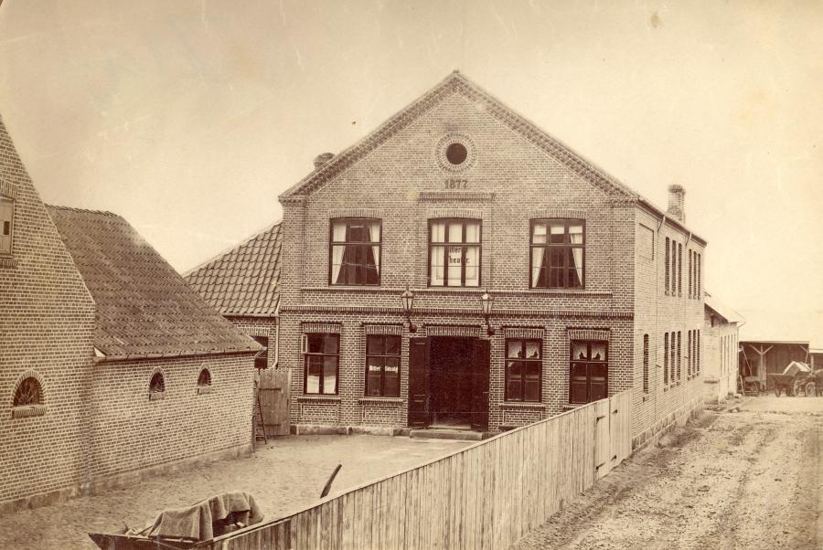 Cafe Sjælland med teater på Frederiksgade 3