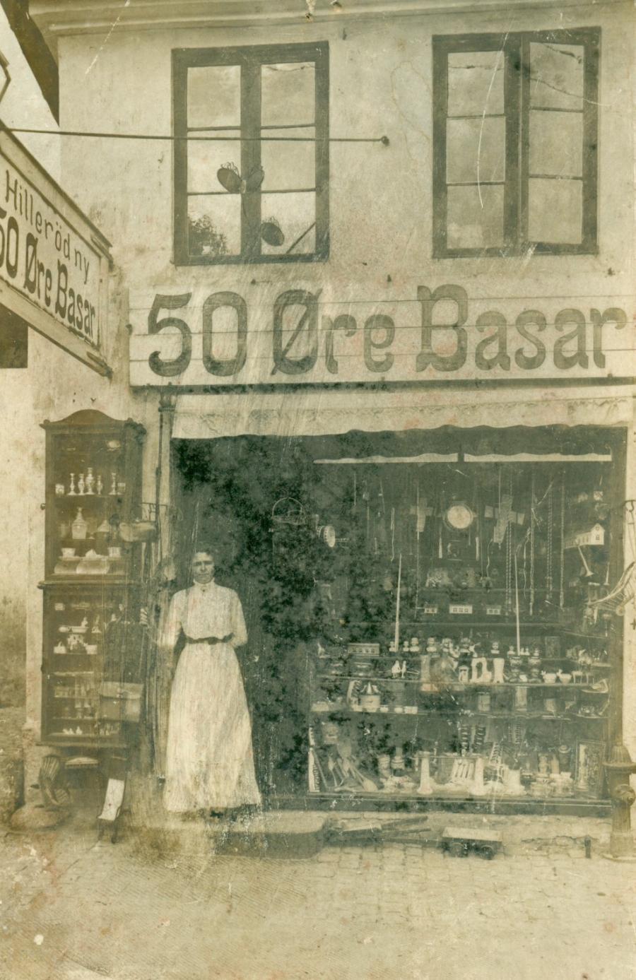 Hillerød 50 Øre Basar - Postkort