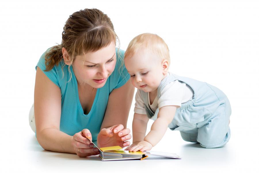 Dialogisk læsning med de små