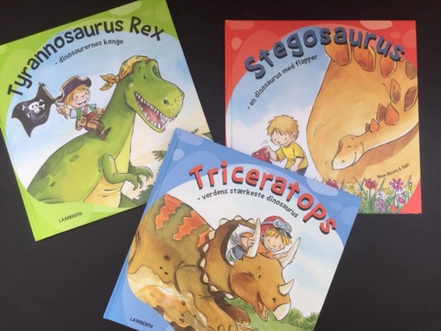 Tænk, hvis du var ven med en rigtig levende dinosaurus!