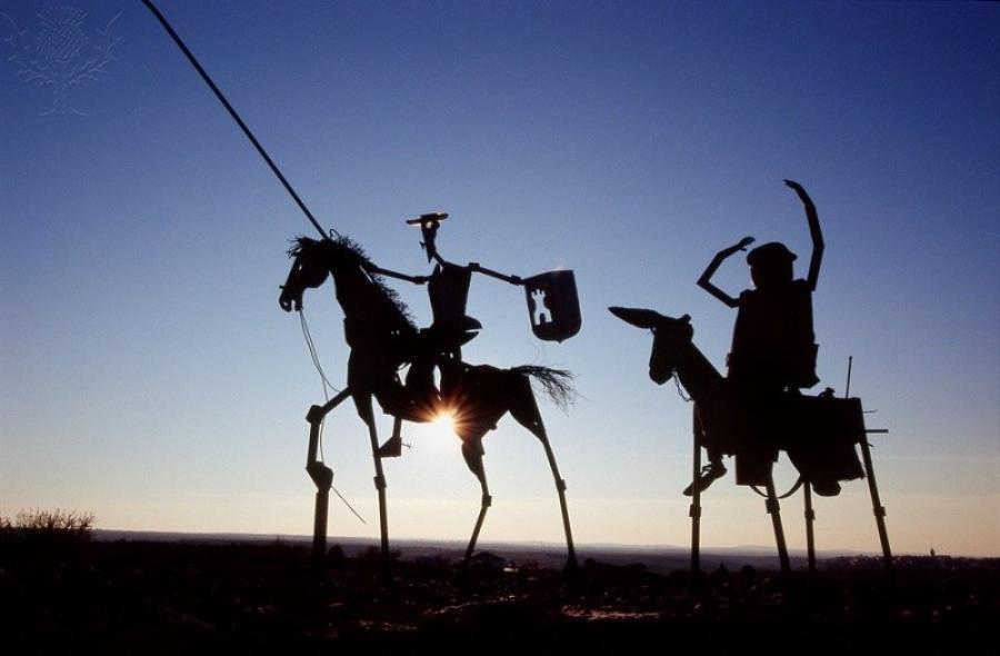 Don Quixote og Sancho Panza