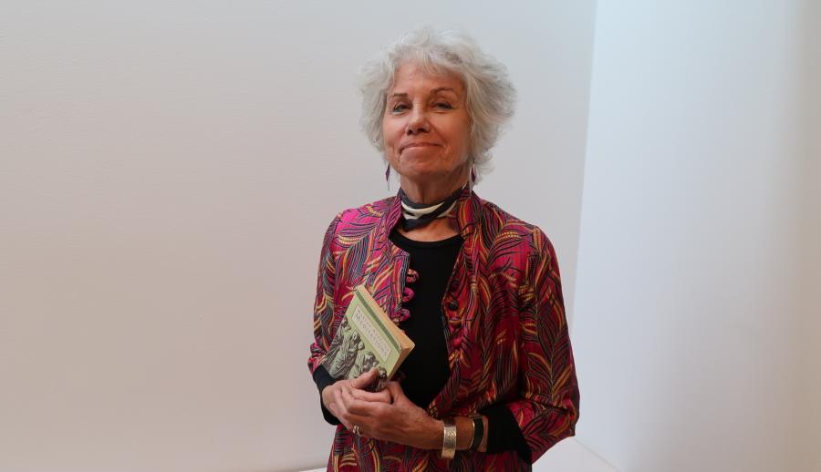 Initiativtager til Sokratescafeen Ellen Bick Asmussen
