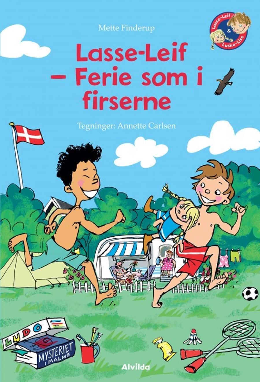 Forsiden af Lasse-Leif - ferie som i firserne