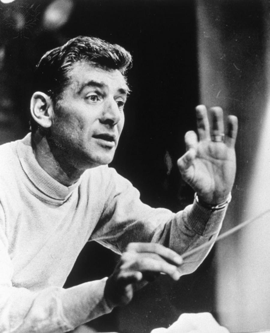 Leonard Bernstein Getty Images