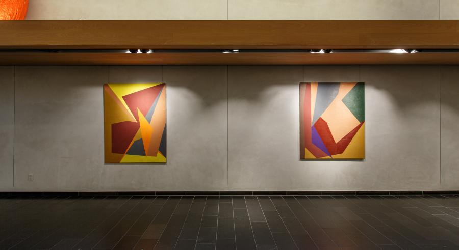 Malerier i Vandrehallen