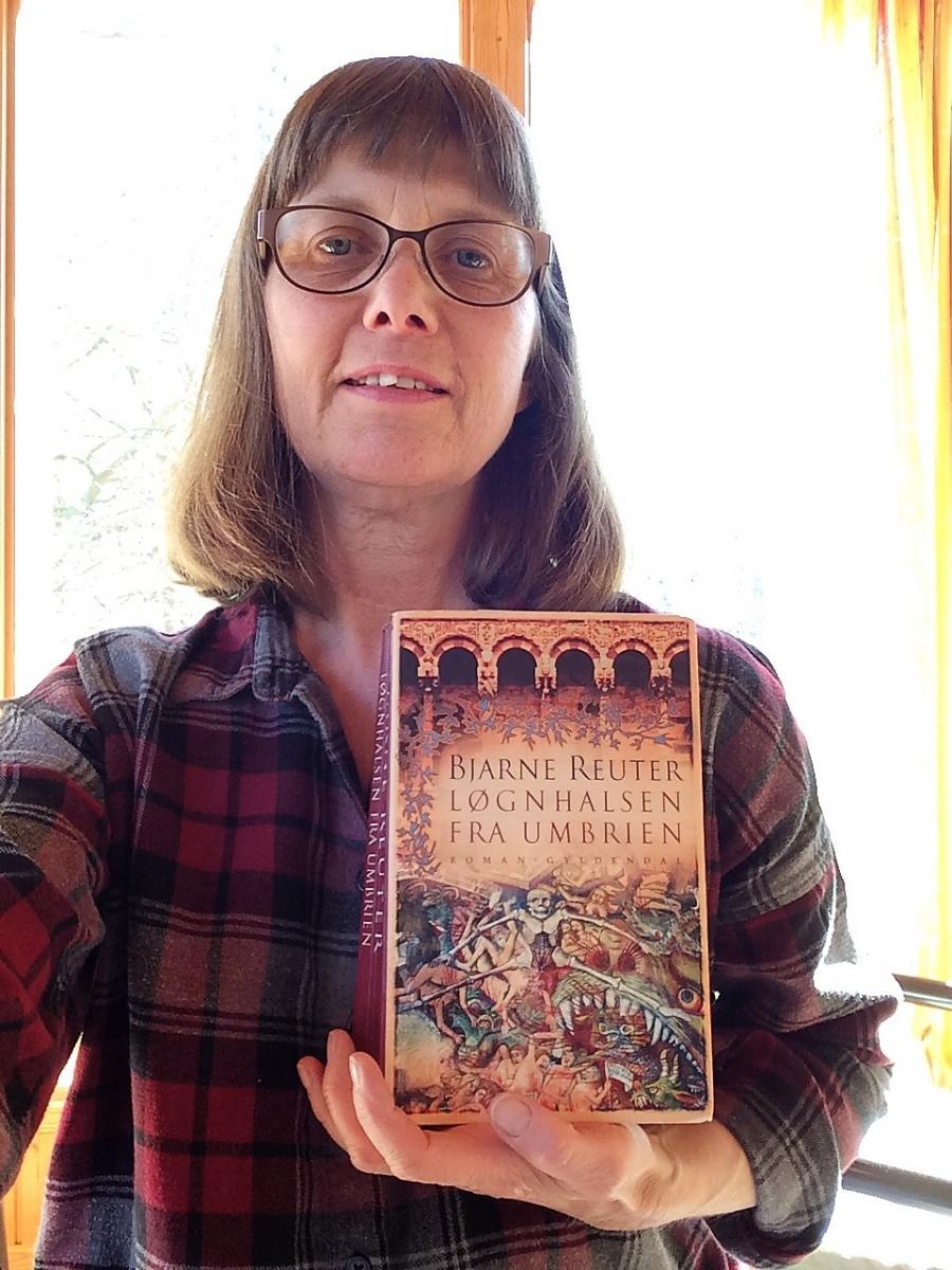 Biblioteksassistent Marianne B. Madsen