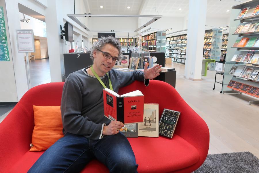 Bibliotekar Jakob Poulsen
