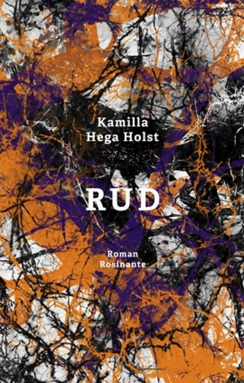 """Bogforside af """"Rud"""" af Kamilla Hega Holst."""