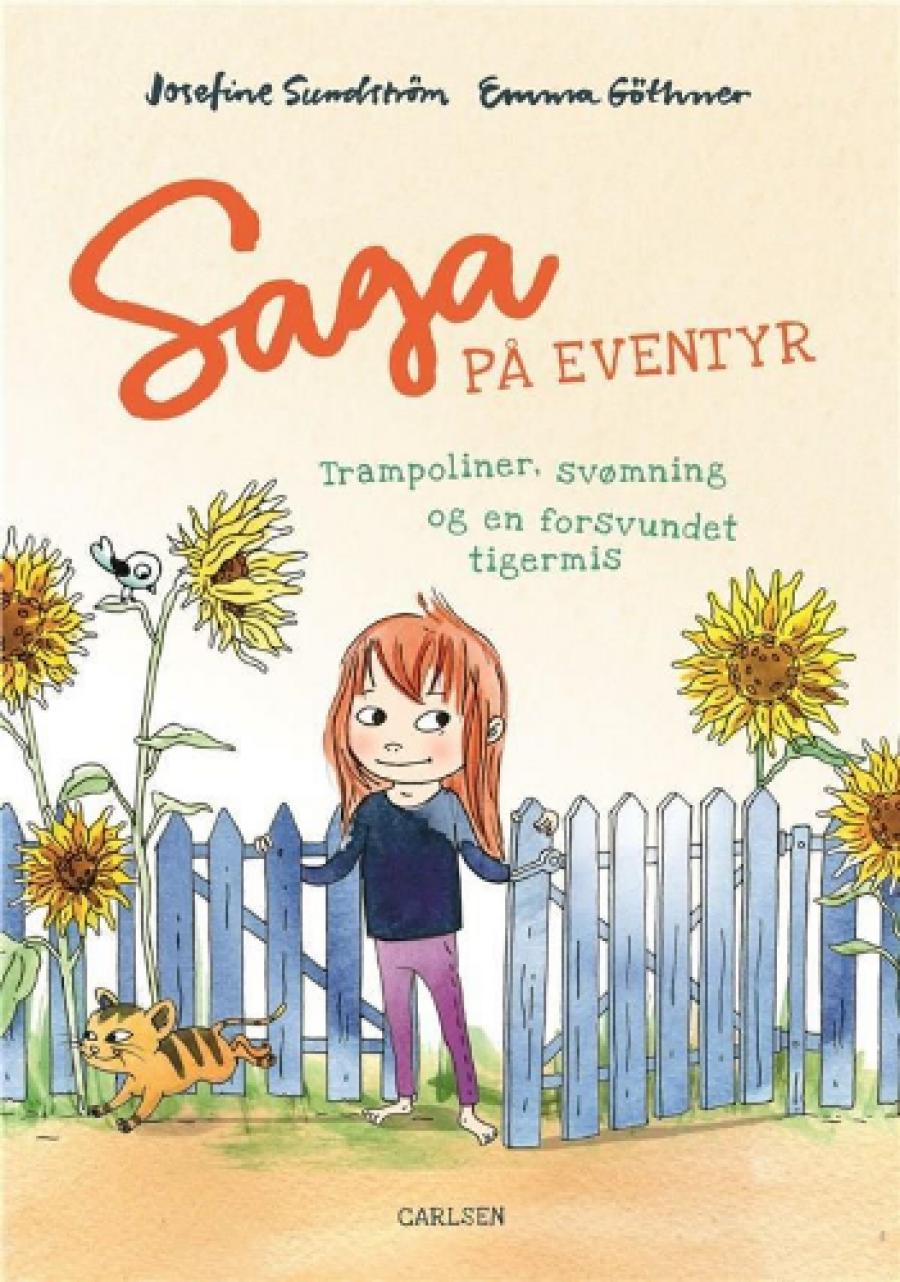 Saga på eventyr. Forfatter: Josefine Sundström Illustrator: Emma Göthner Forlag: Carlsen