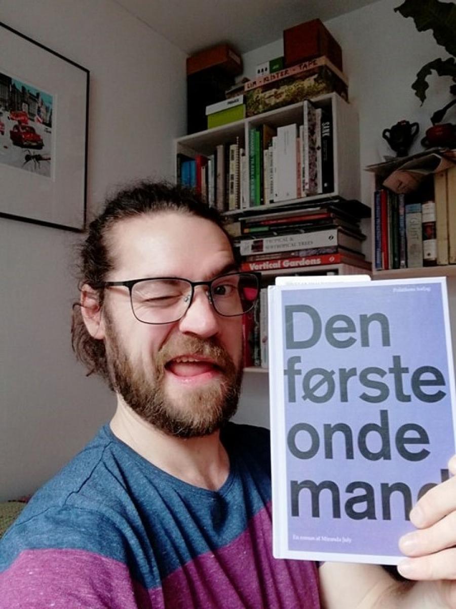 Thorbjørn anbefaler. Foto: Hillerød Bibliotekerne