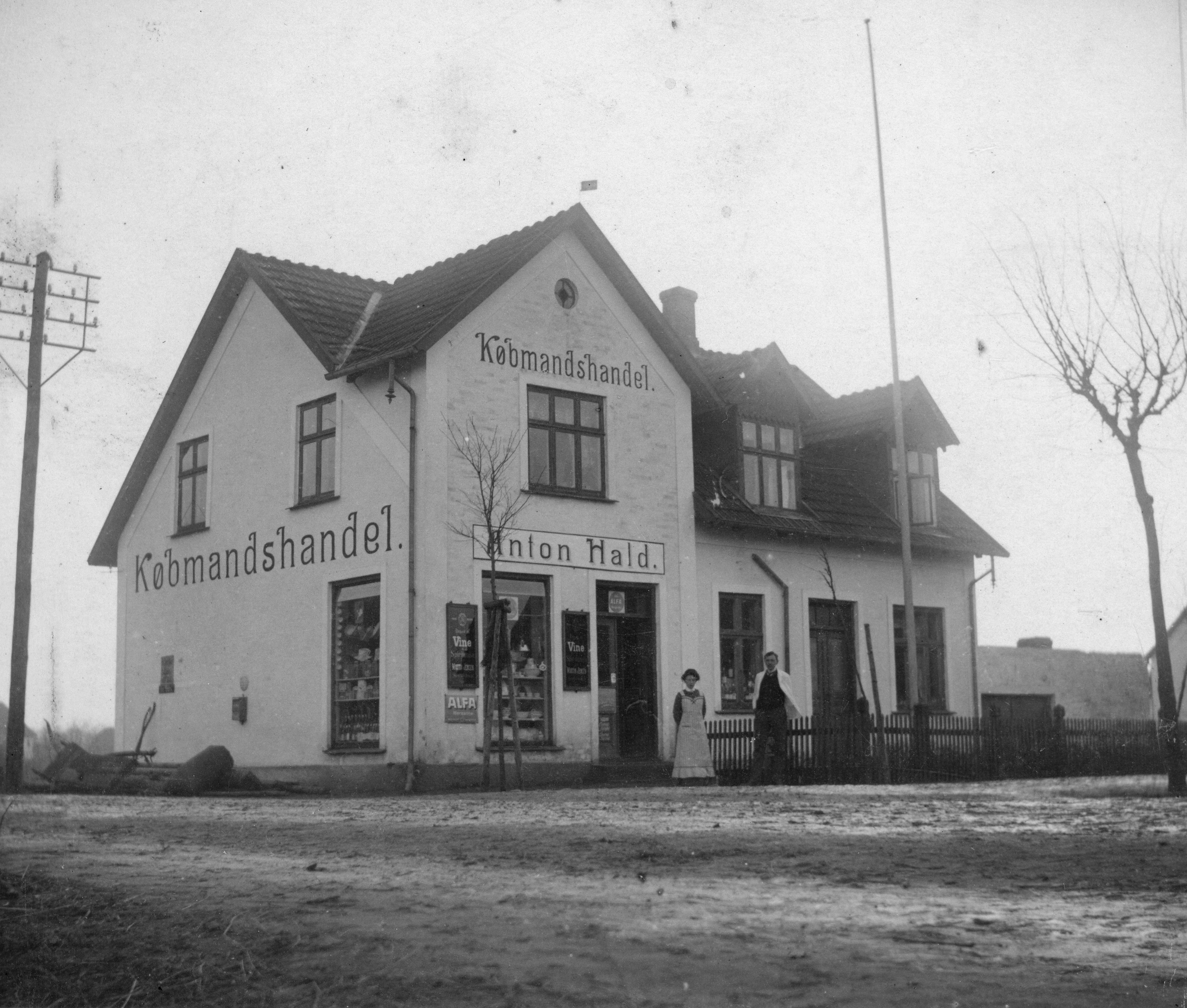 Købmandsforretning, ca. 1920