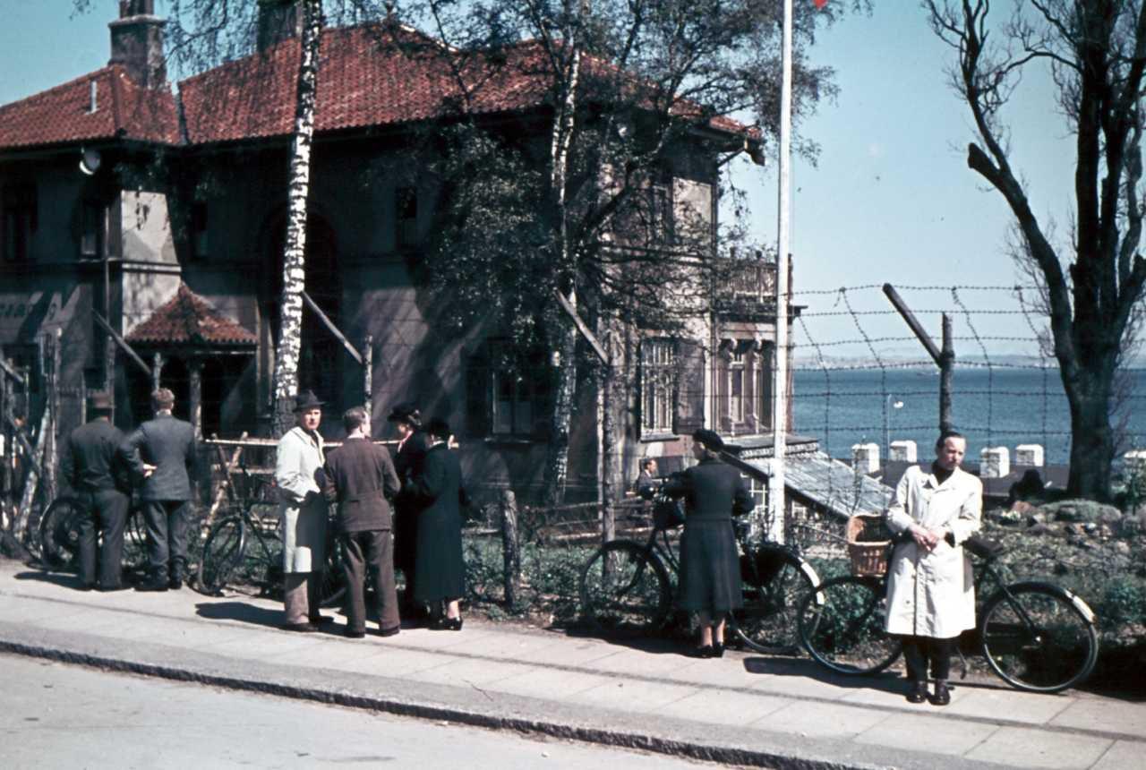 Gestapohovedkvarter Villa Wisborg hvor Tonny blev tortureret